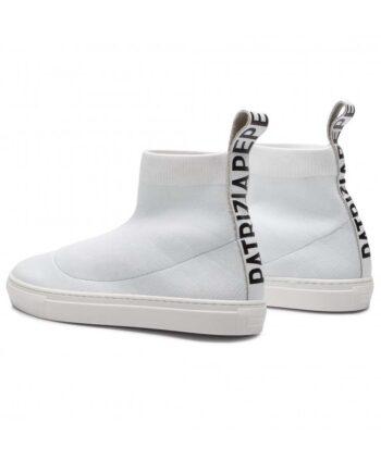 Scarpe Patrizia Pepe Sneakers Alte Pelle Bianche,scarpa donna patrizia pepe,accessori firmati prezzo più basso,spedizione rapida,prezzo outlet patrizia pepe