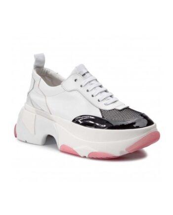 Scarpe Patrizia Pepe Sneakers Pelle Bianche David,scarpa donna patrizia pepe,accessori firmati prezzo più basso,prezzo outlet patrizia pepe