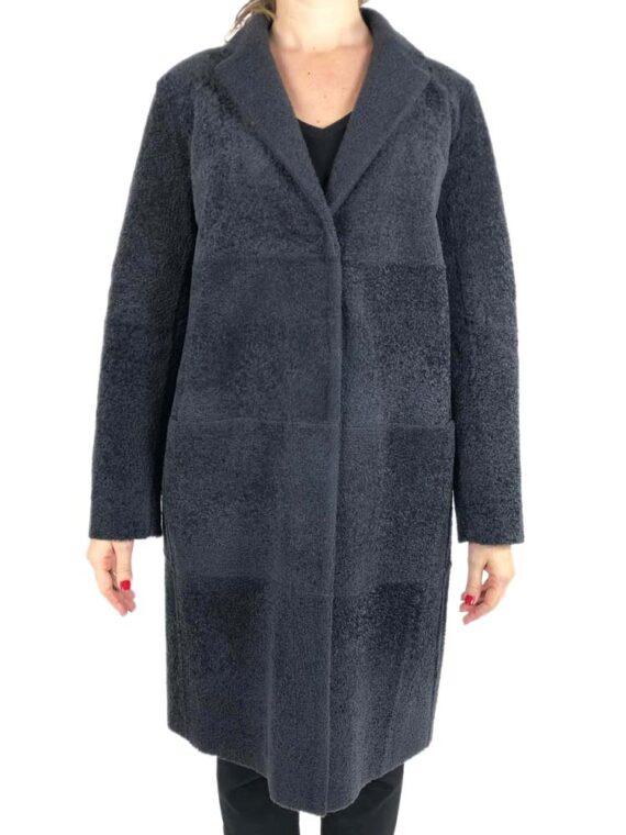 Montone Fabiana Filippi Real Shearling Donna Nero,pelliccia montone fabiana filippi,abbigliamento firmato prezzo più basso,prezzi outlet fabiana filippi