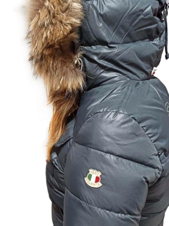 Piumino Dolomite Fitz Roy 2.0 WJ Donna Cappuccio Black,Piumino Donna Dolomite,Abbigliamento Firmato Donna Prezzo Più Basso,Spedizione Rapida