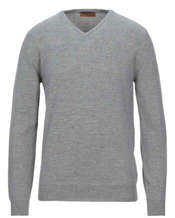 Maglia Alpha Studio Uomo Scollo V Grigia,maglione inverno uomo stile casual,prezzo outlet alpha studio massimo rebecchi,solo prodotti originali