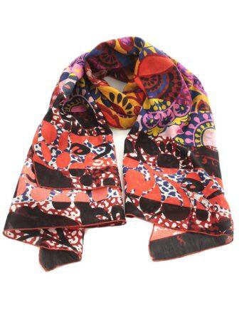 Foulard Manila Grace Trapezio Fantasia F547 Multicolor,Foulard Donna Manila Grace,Accessori Donna Firmati Prezzo Più Basso,Spedizione Rapida
