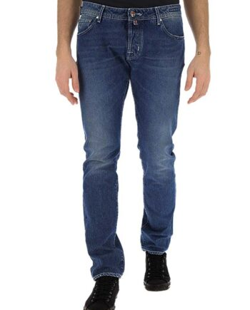 Jeans Jacob Cohen Uomo J688 Comf 01380 W2 Blu,pantalone Jacob Cohen Uomo,jeans di qualità a prezzi di stock, solo prodotti originali