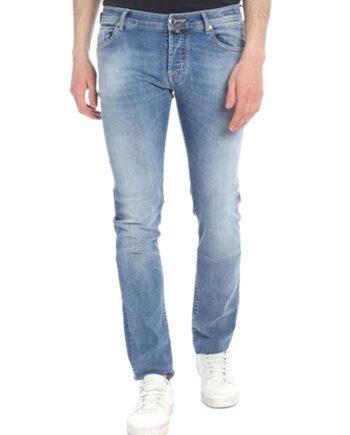 Jeans Jacob Cohen Uomo J620 Comf 08792 W3 Blu,pantalone Jacob Cohen Uomo,jeans di qualità a prezzi di stock, solo prodotti originali