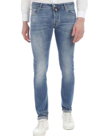 Jeans Jacob Cohen Uomo J688 Comf 00676 W3 Blu,pantalone Jacob Cohen Uomo,jeans di qualità a prezzi di stock, solo prodotti originali