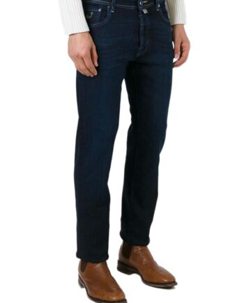 Jeans Jacob Cohen Uomo J688 Lambretta Comf 00265 W1 Blu,pantalone Jacob Cohen Uomo,jeans di qualità a prezzi di stock, solo prodotti originali