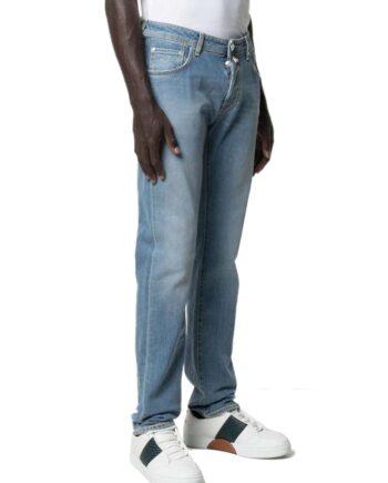 Jeans Jacob Cohen Uomo J696 Comf 01368 W3 Blu,pantalone Jacob Cohen Uomo,jeans di qualità a prezzi di stock, solo prodotti originali