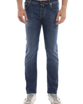 Jeans Jacob Cohen Uomo J622 Comf 01472 W2 Blu,pantalone Jacob Cohen Uomo,jeans di qualità a prezzi di stock, solo prodotti originali