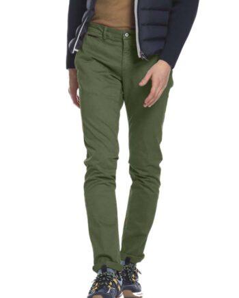 Pantalone Mason's Uomo Cargo Forte dei Marmi Verde.Pantalone Uomo masons cotone,modello regolare,tasche,chiusura zip e bottone